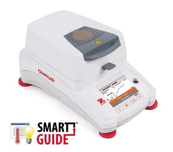 mb120_smartguide_right_1_600x600 [Ohaus MB series] Cân sấy ẩm Ohaus Model MB95 Cân sấy ẩm điện tử
