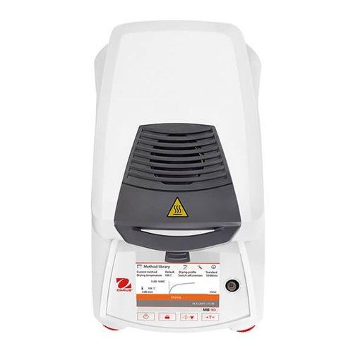 mb90_overtop_600x600 [Ohaus MB series] Cân sấy ẩm Ohaus Model MB90 Cân sấy ẩm điện tử